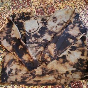 One of a kind tie dye sweatshirt